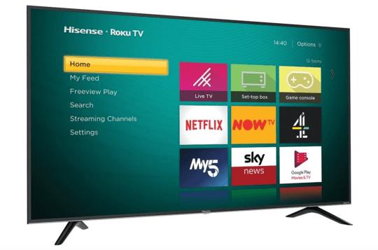 If you're on a budget, this is the TV to go for (Hisense)