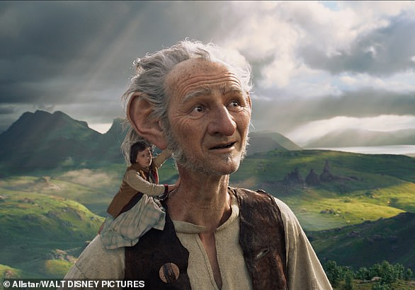 A 64-year-old man from the Netherlands developed a condition overnight whereby he perceived everyone - and everything - to be tiny (pictured, 2016's The BFG film)