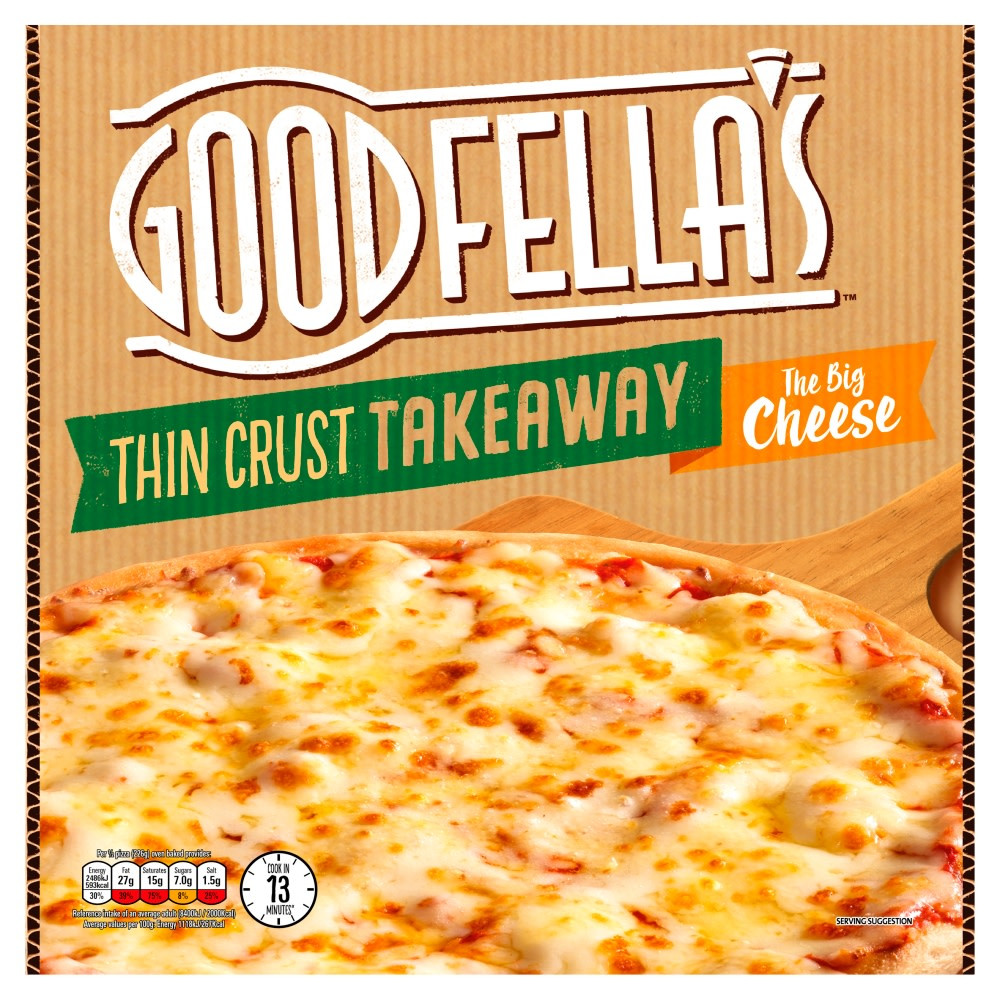 Get a Goodfella's pizza as part of a meal deal at Nisa all for a fiver