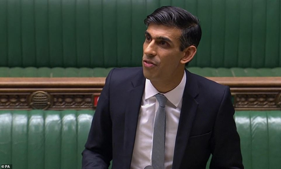 Rishi Sunak today announced a 'Eat Out To Help Out' scheme to try to save the struggling hospitality industry