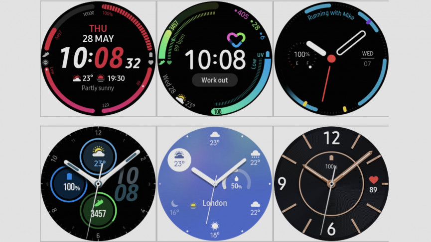 Samsung Galaxy Watch 3 watch faces and complications