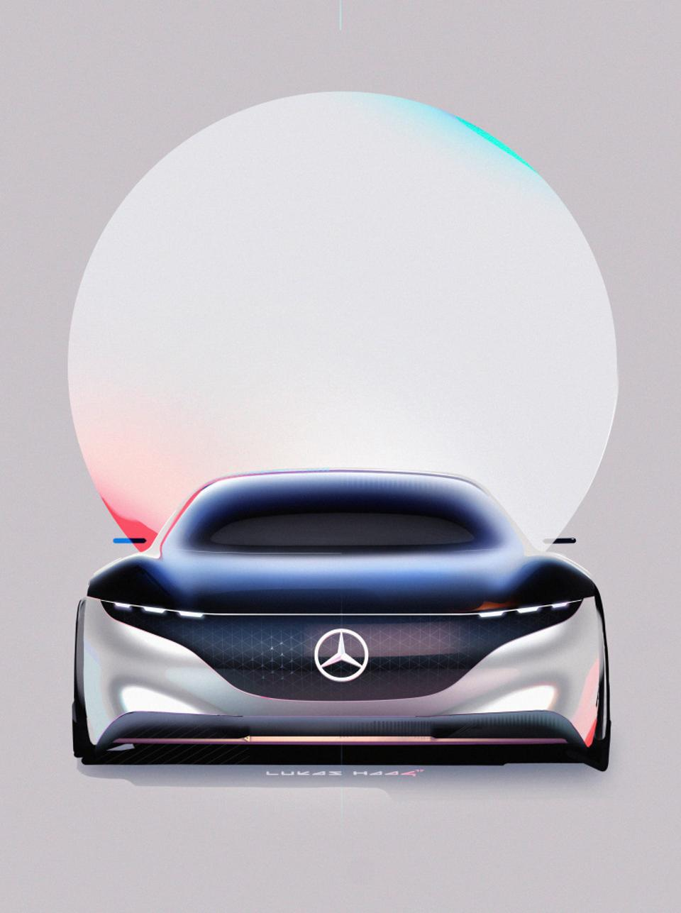 Mercedes-Benz Vision EQS represents what the pinnacle S-Class will be as an electric car