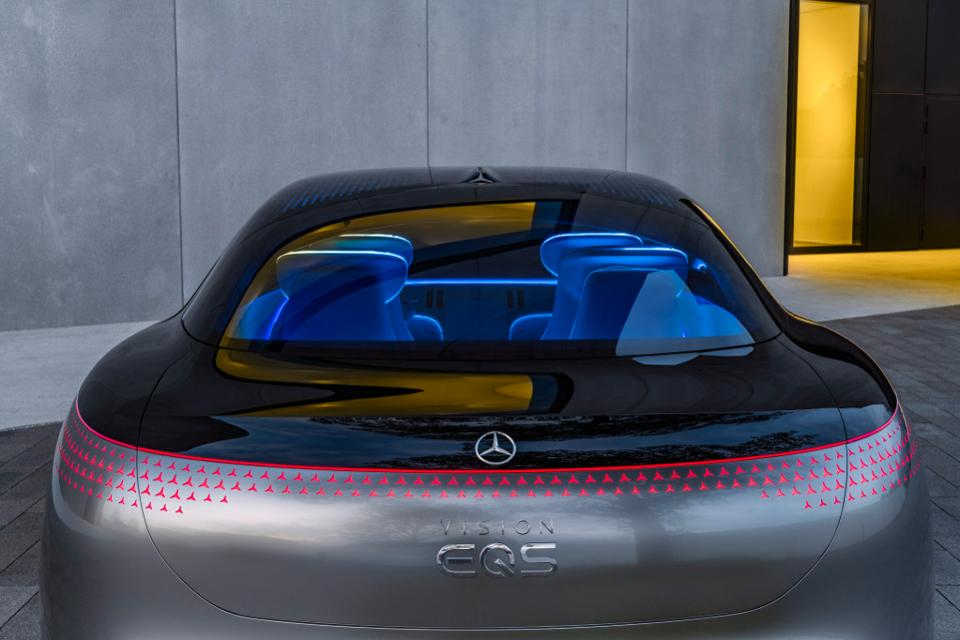 The EQ concept cars show roughly 80% of what to expect with the electric production cars
