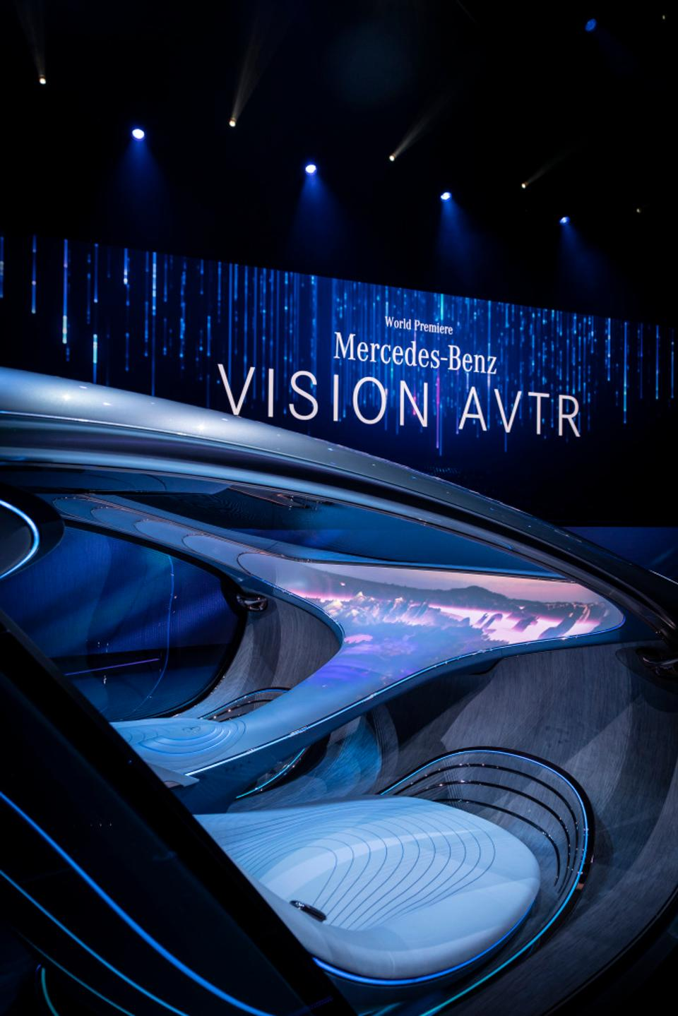 Mercedes-Benz AVTR at CES 2020