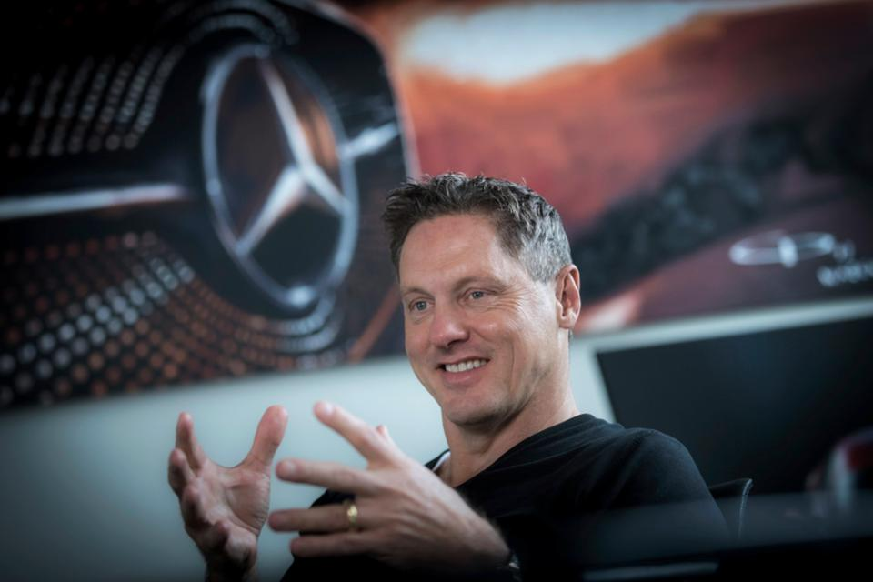 Gorden Wagener, chief design officer for Daimler AG and Mercedes-Benz