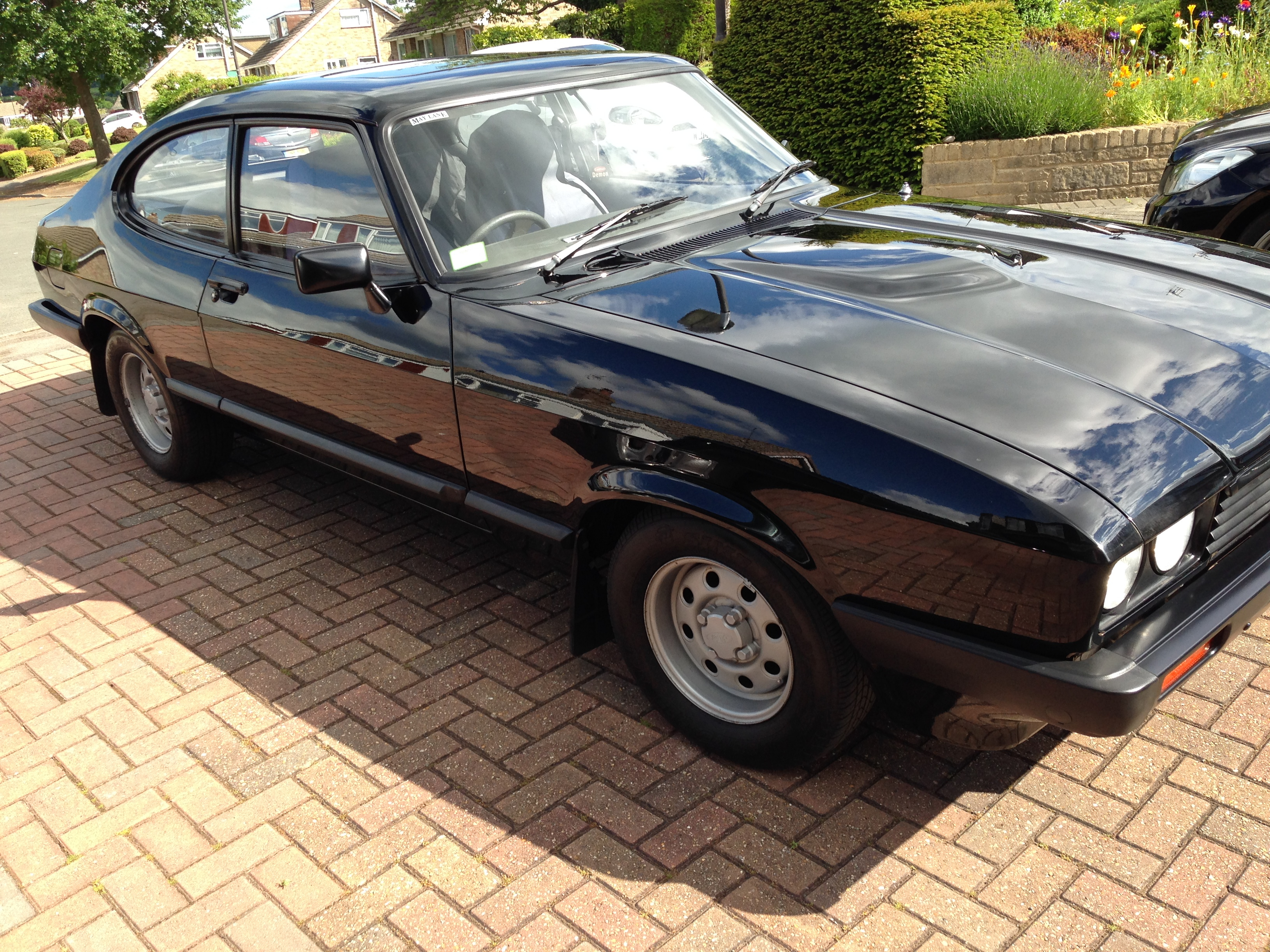 Stephen Harper says he will never sell his beloved 1984 Ford Capri