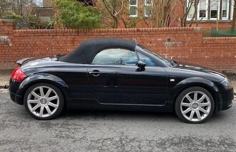 Alfie says Andrew Rimmer's 2001 Audi TT Roadster is a classic in the making