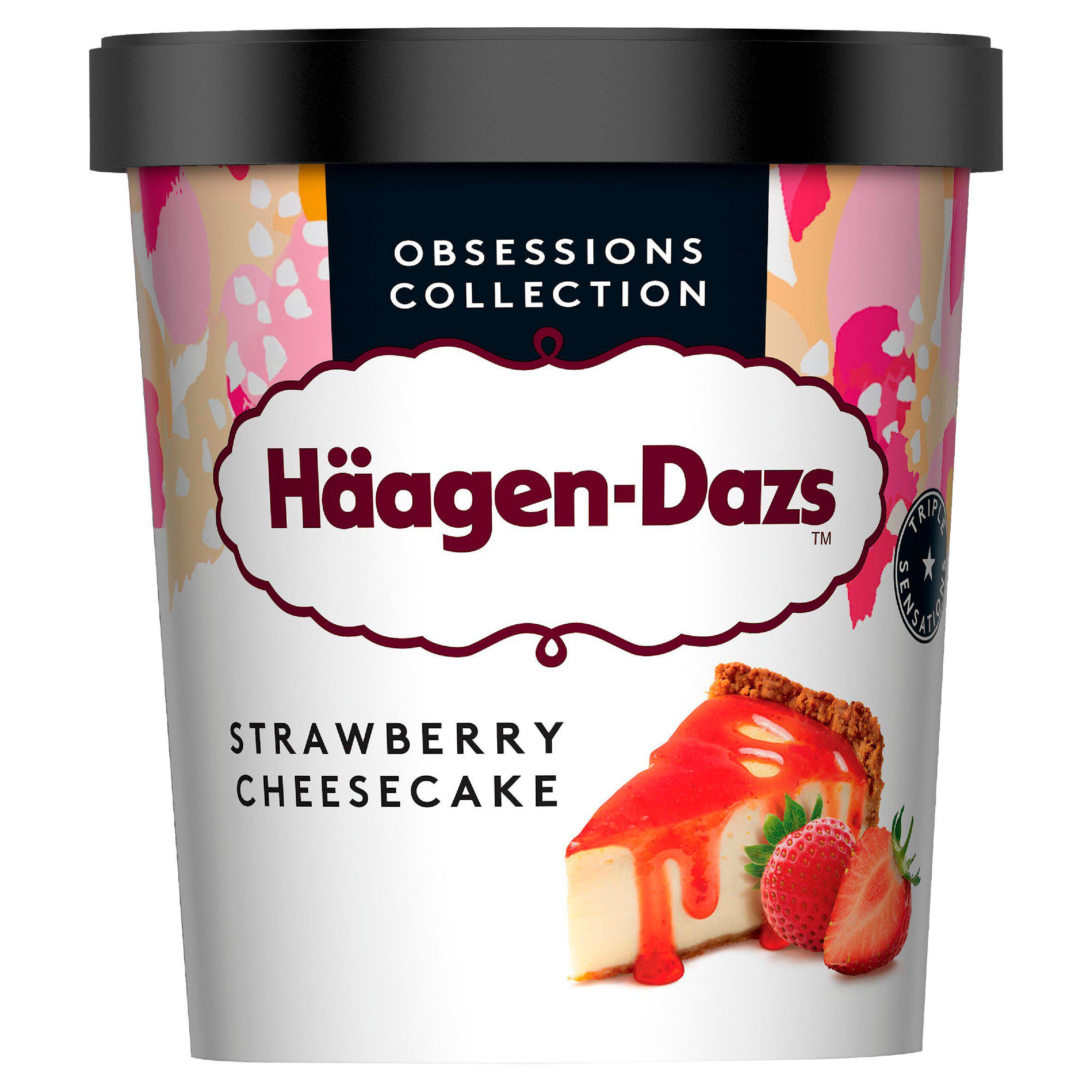 Chill out with a tub of Häagen-Dazs Ice Cream Strawberry Cheesecake for £1.80 less