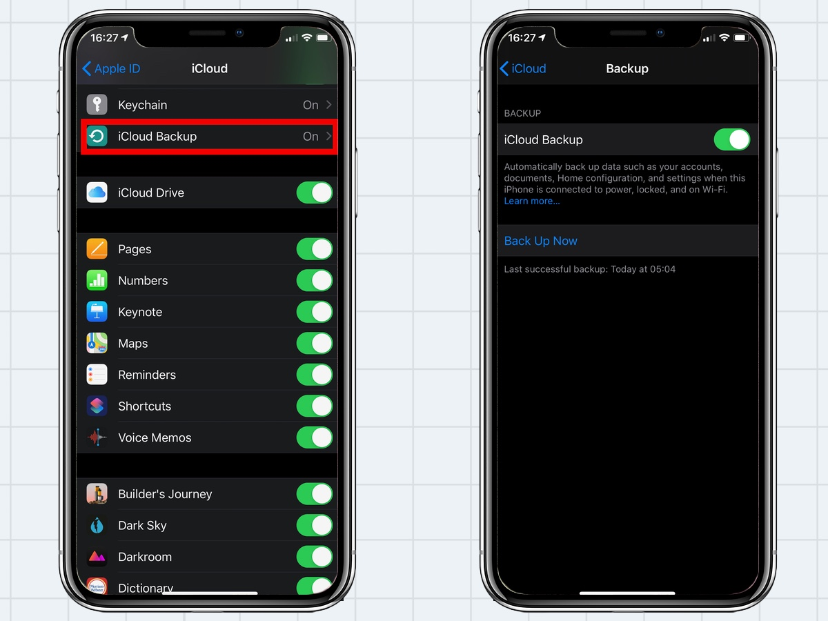 how to backup an iPhone