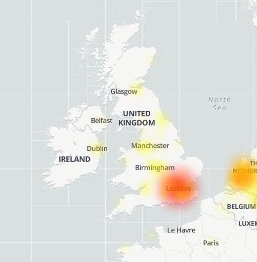 WhatsApp is down Downdetector.com