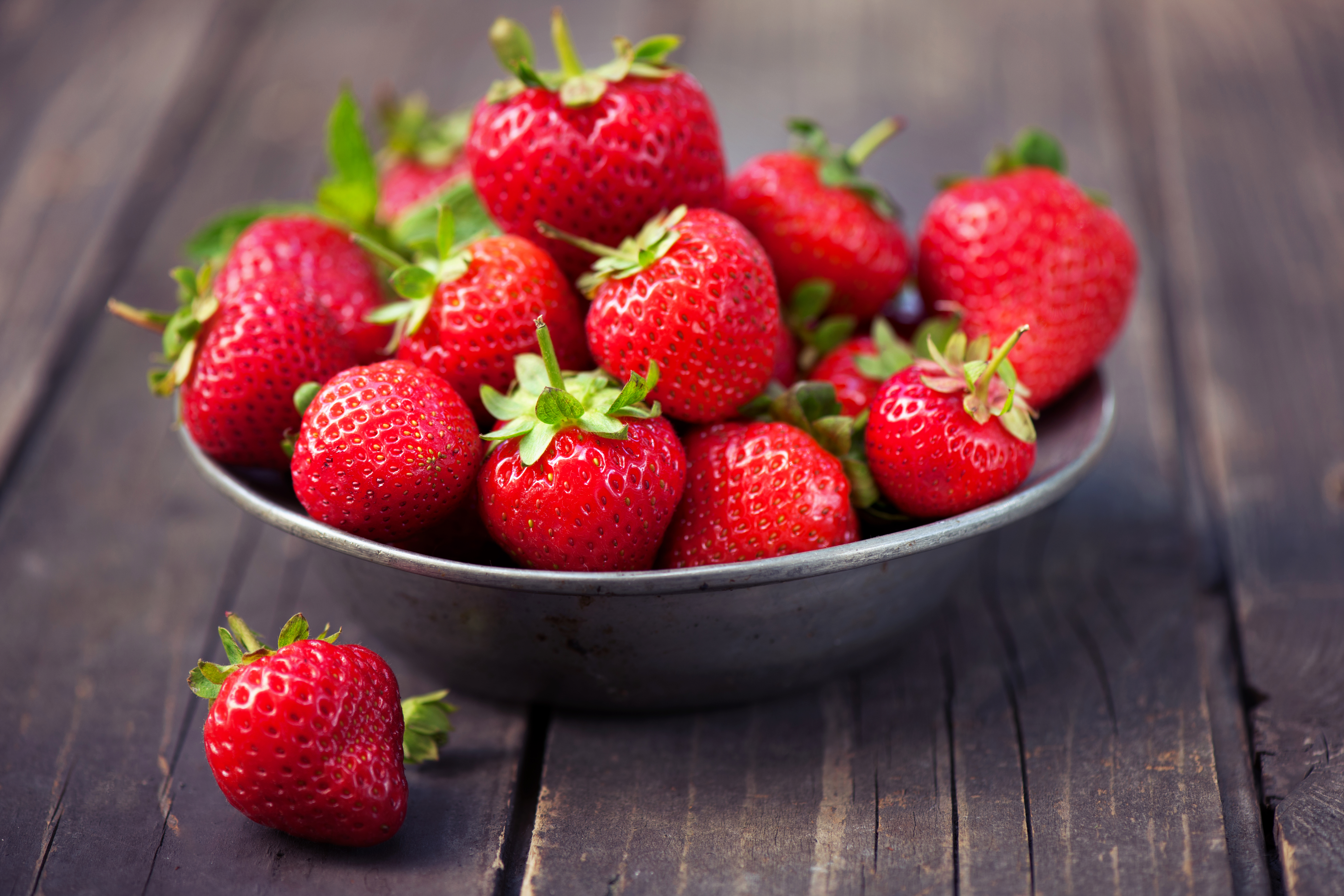 Use mushy strawberries for tasty morning smoothies