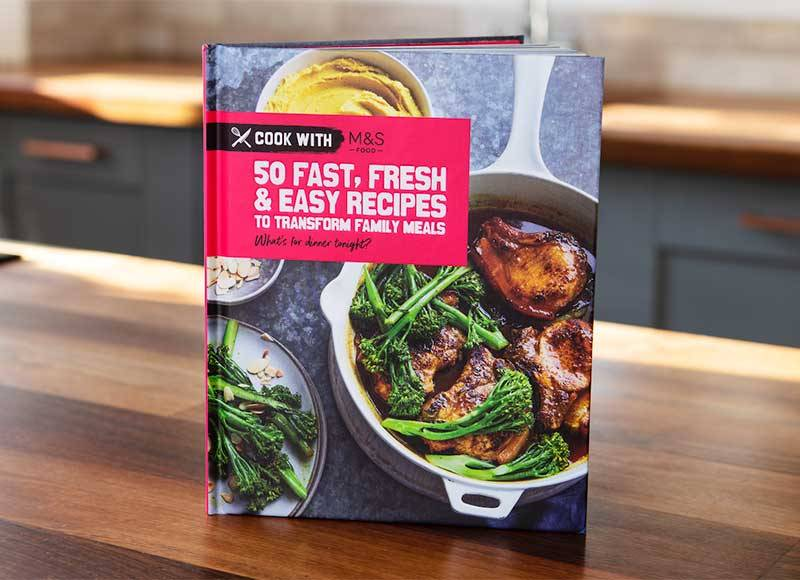 M&S' new £5 cook book has amazing time-saving recipes