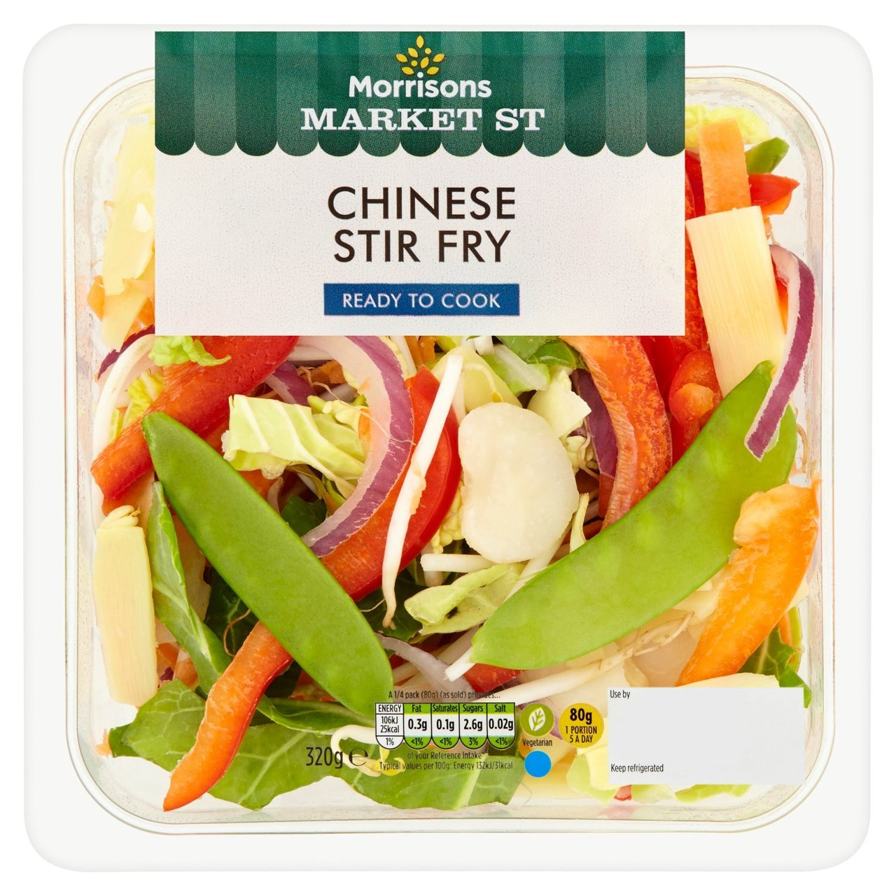 Enjoy a Stir Fry with Morrisons' ready to cook meal, just £3
