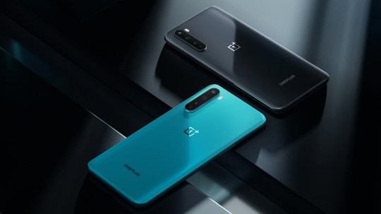 Your choice of blue or black (OnePlus)