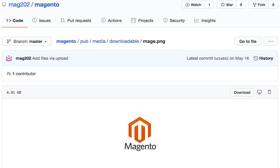 Magento Repository mag202