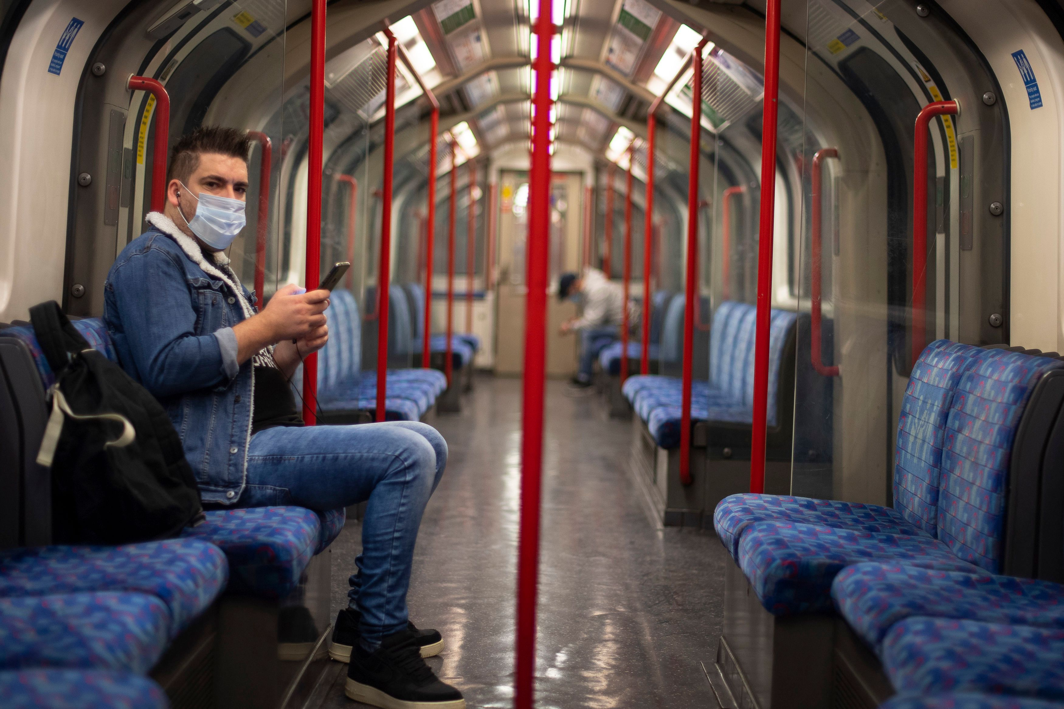 Masks must be worn on public transport in England