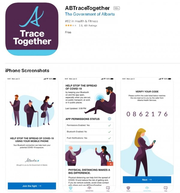 ABTraceTogether App for iOS