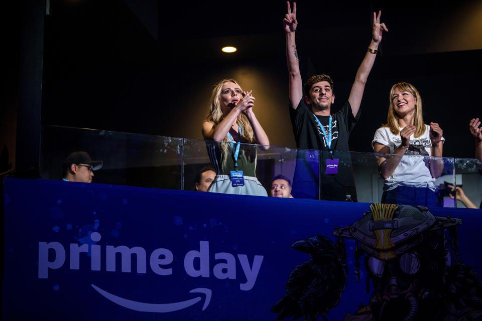 Amazon marked the lead up to Prime Day with the Twitch Prime Crown Cup