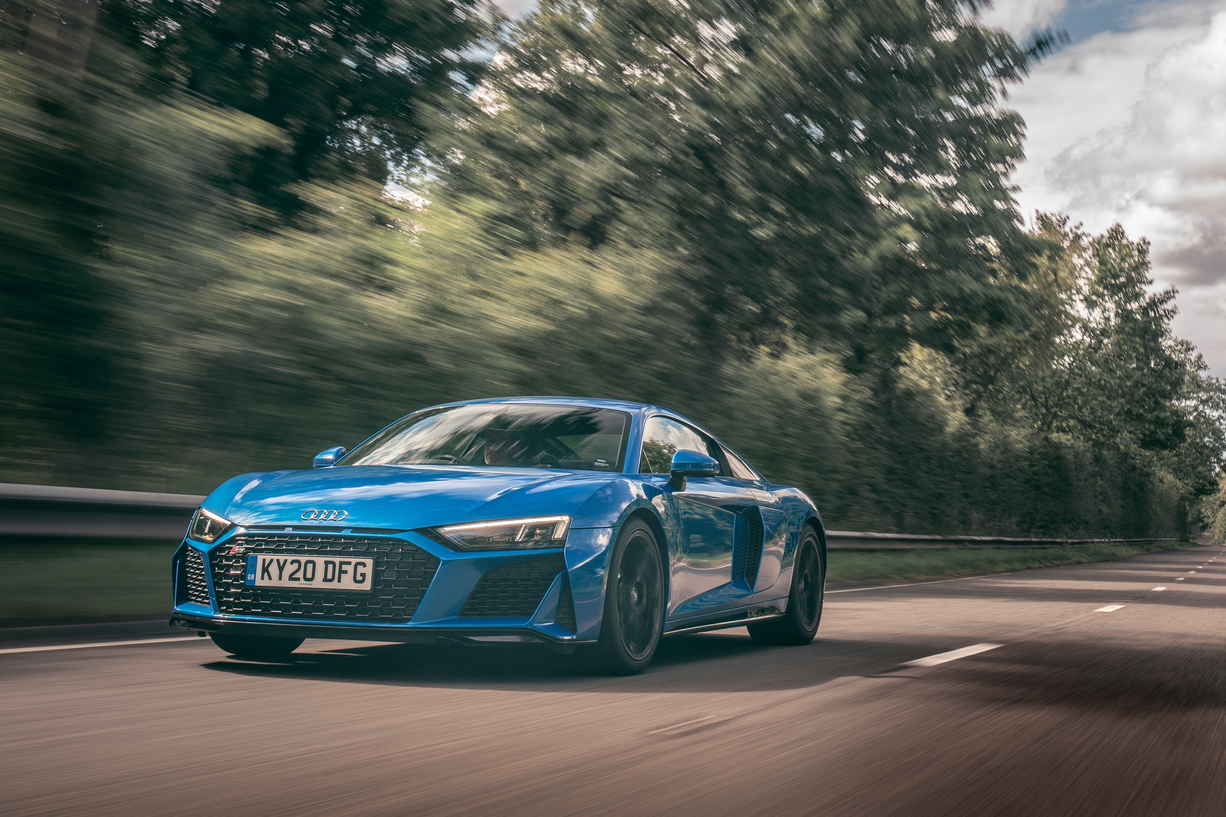 With the Audi R8 RWD you're not the navigator, you're the pilot