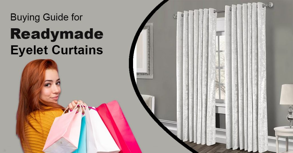 Buying Guide for Readymade Eyelet Curtains