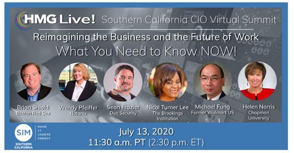 HMG Live! 2020 Southern California CIO Virtual Summit