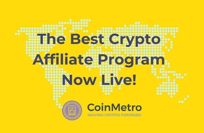 CoinMetro Launches New Affiliate Program