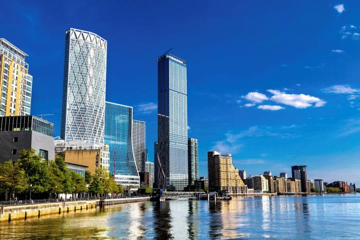 Despite the slowdown, there are still 1,000 new-build projects in the pipeline in London, some  of the priciest in Canary Wharf
