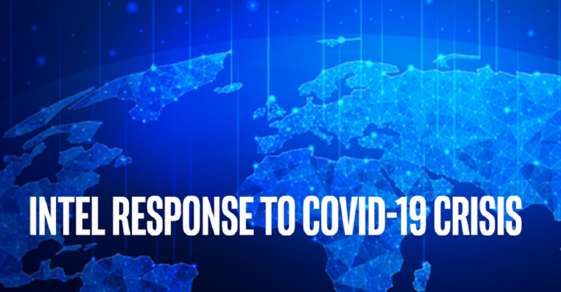 Intel is donating more than $50 million to fight the coronavirus.