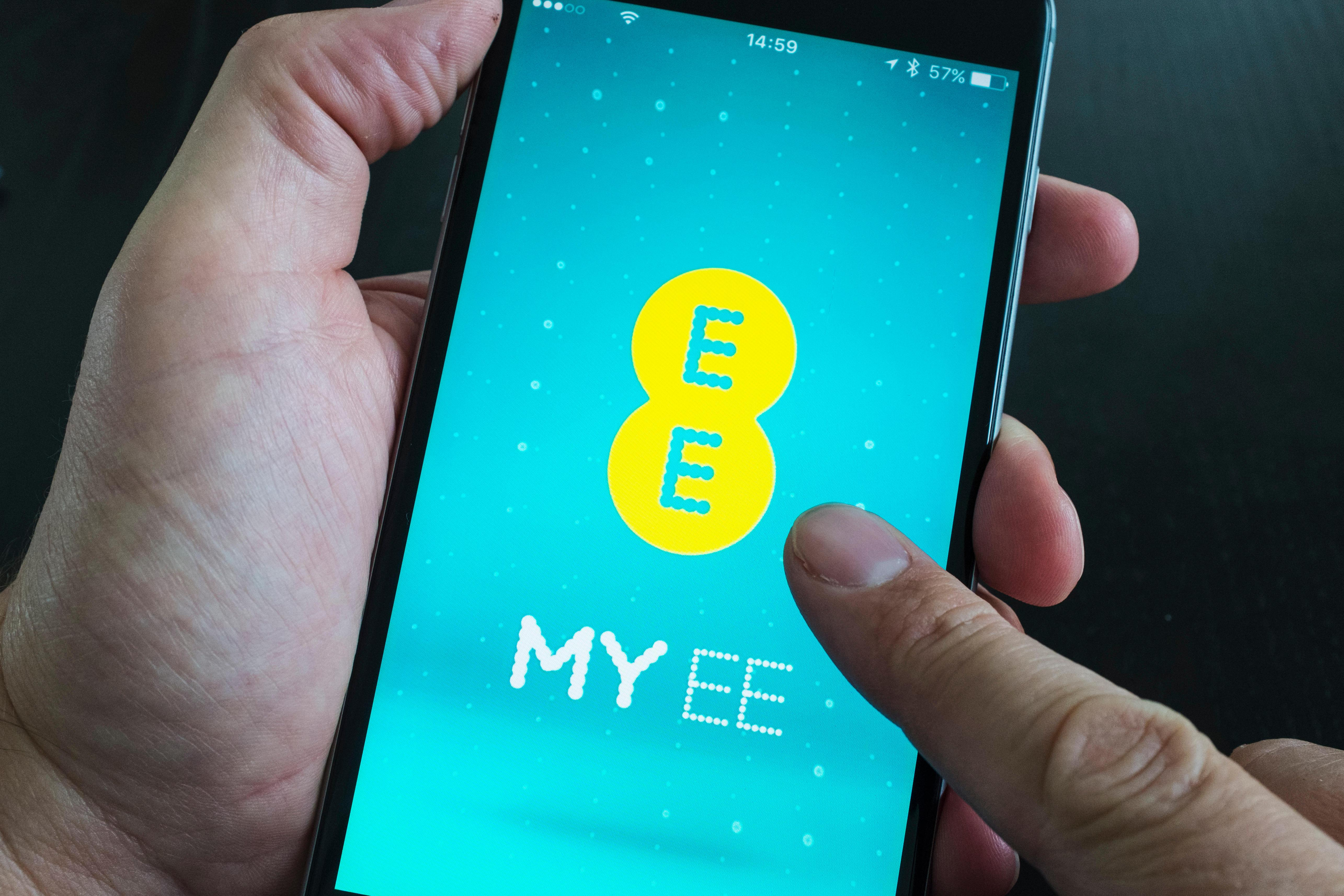 EE customers will want to check the service in their area if they're experiencing issues