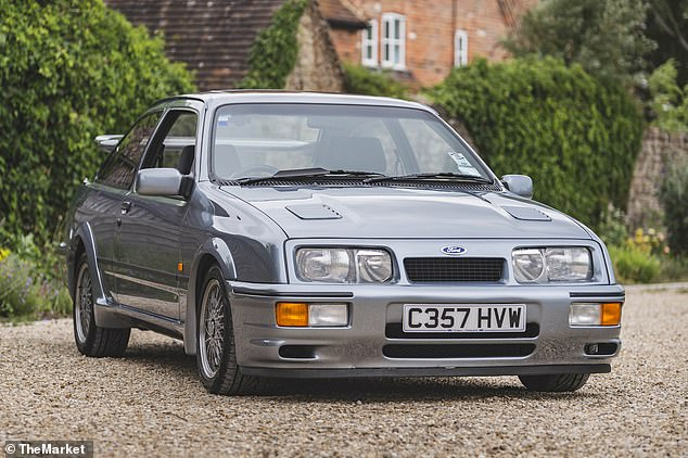 Fast Ford with a fat price tag: This one-of-ten pre-production Sierra RS Cosworths will be available via an online auction at the end of July