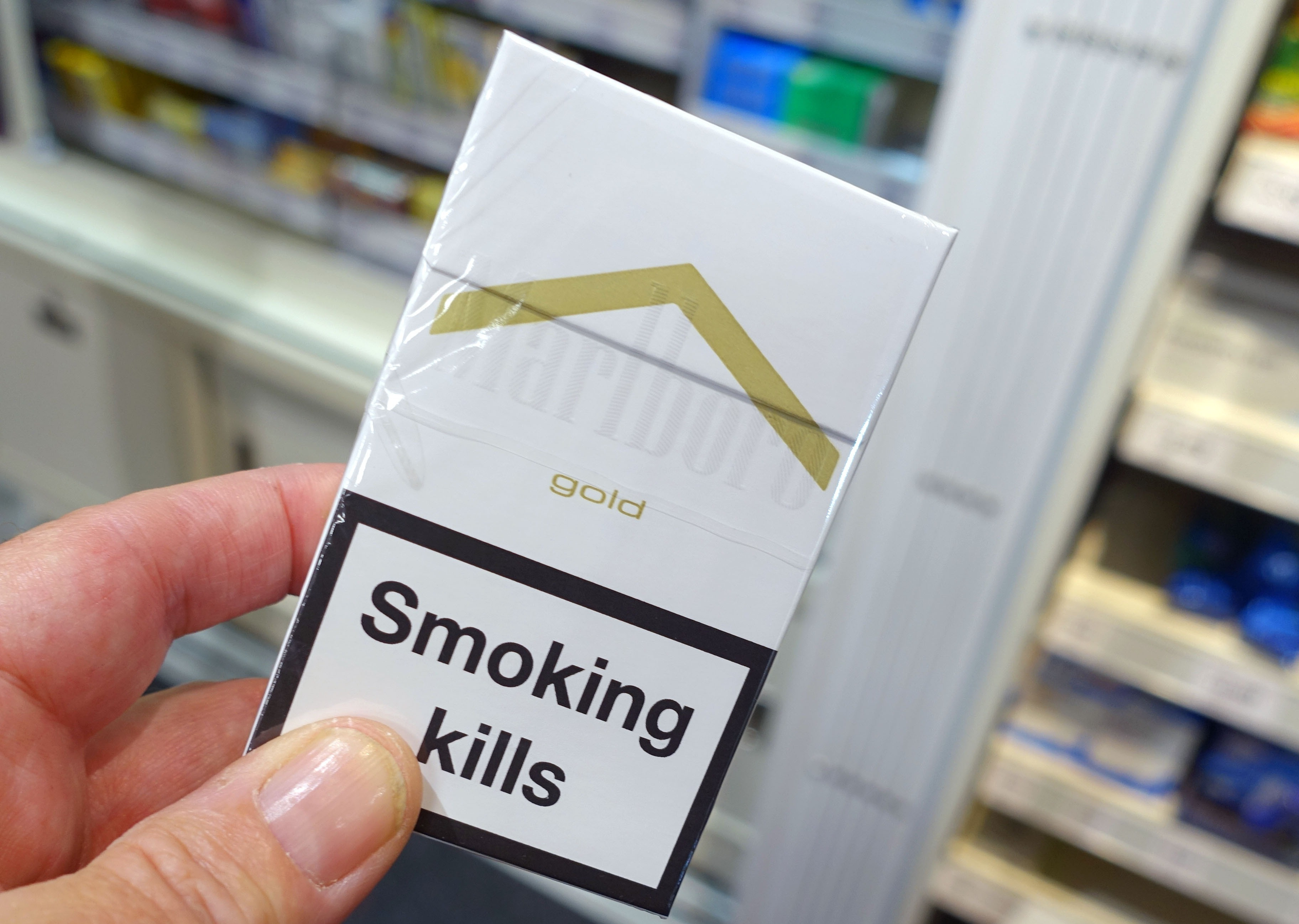 Plain packaging has led to a drop in smoking, study finds