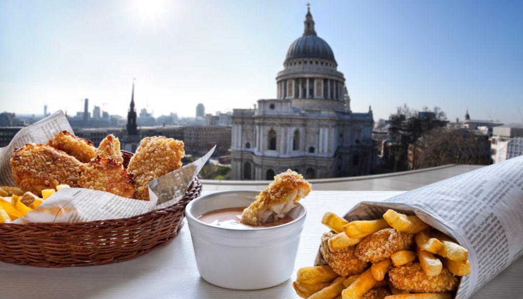 Staple Foods in Each UK City