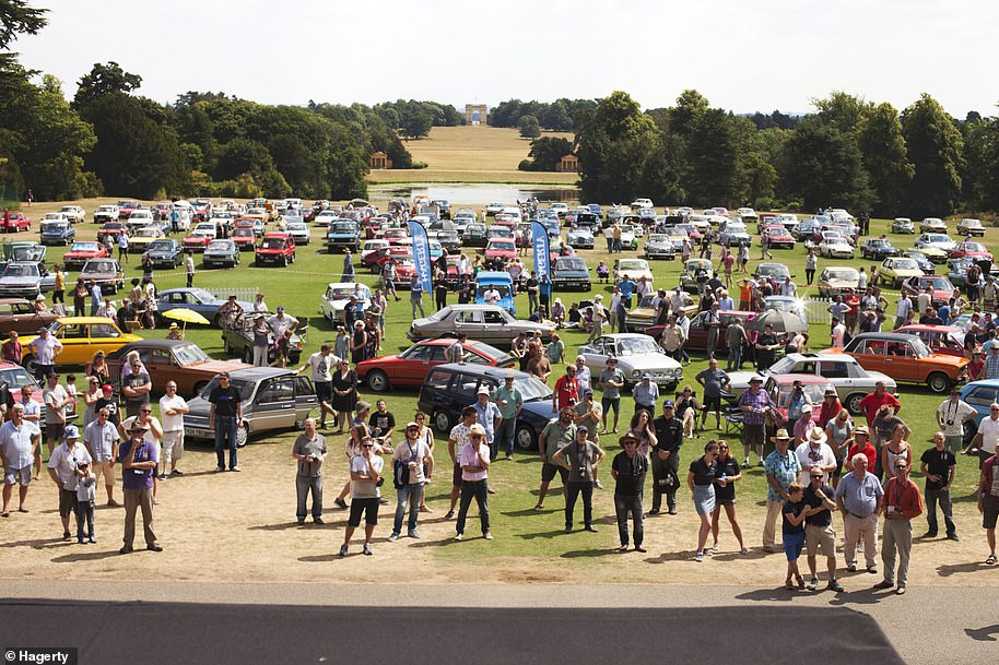 The Festival of the Unexceptional is the annual motor show purely for once common cars from previous eras that have long been forgotten