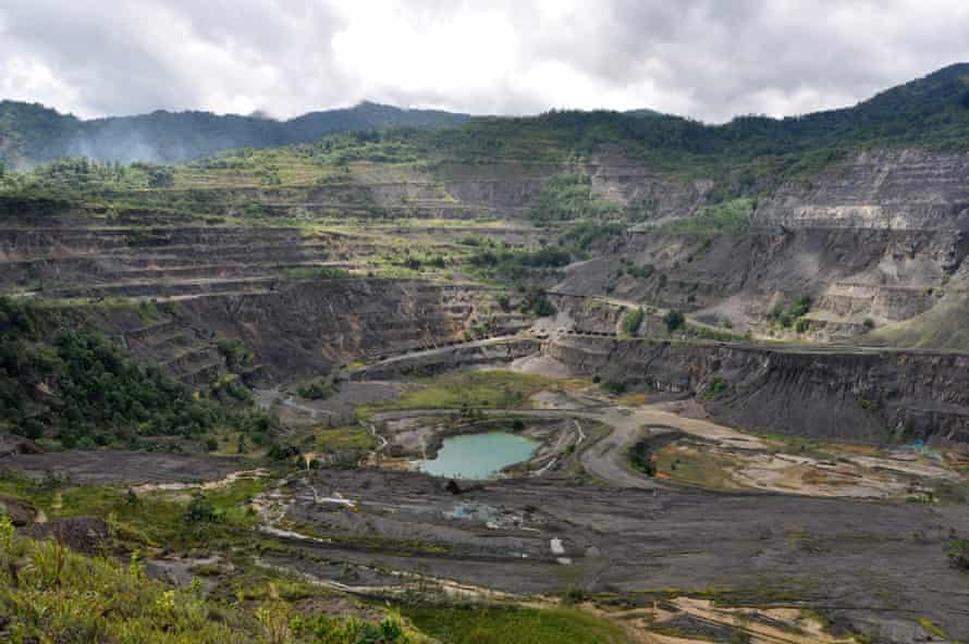 The Panguna mine sparked a decade-long civil war in Papua New Guinea's autonomous region of Bougainville.