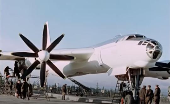 The bomb was loaded onto a modified Soviet Tu-95V bomber (Rosatom State Atomic Energy Corporation)