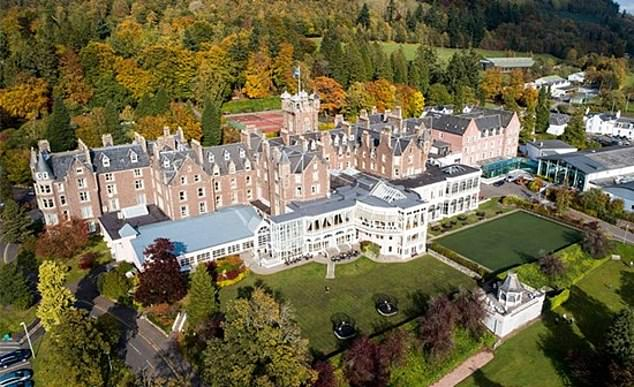 From mountain-biking to paddle-boarding and zip-lining, there are 60 activities on offer at the sprawling Perthshire resort, Crieff Hydro
