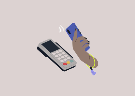 Contactless payment with a mobile phone, wireless transactions via smartphone, new technologies