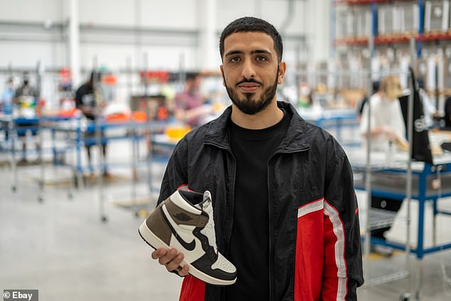 Wahaaj Shabbir, a sneaker lover, works to help sellers make the most of their listings on eBay