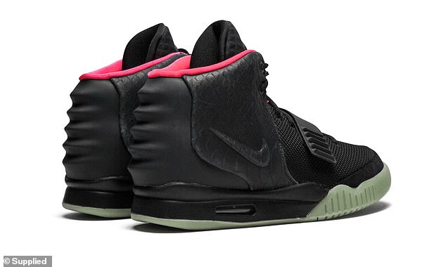 Profit: Nike Yeezy 2 shoes originally retailed for £130 but are now selling for around £9,000
