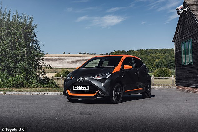 Toyota Aygo was said to be the cheapest car for young drivers to insure at £641 each year