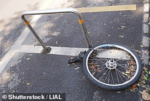 ONS data shows 72,640 bikes were reported stolen in 2020, which amounts to 199 bicycle thefts per day on average