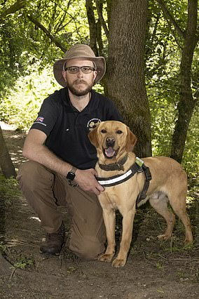 Weapon: Mick can sniff out the knotweed