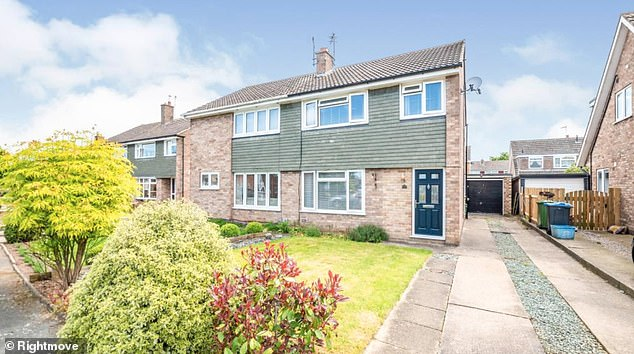 This three-bed semi-detached property in Northallerton, North Yorkshire is being offered on Rightmove with an asking price of £225,000