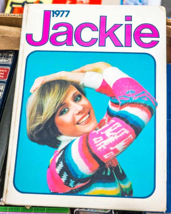 Jackie magazine, the 1977 annual. Whisper it, but agony aunts Cathy and Claire were not real people.