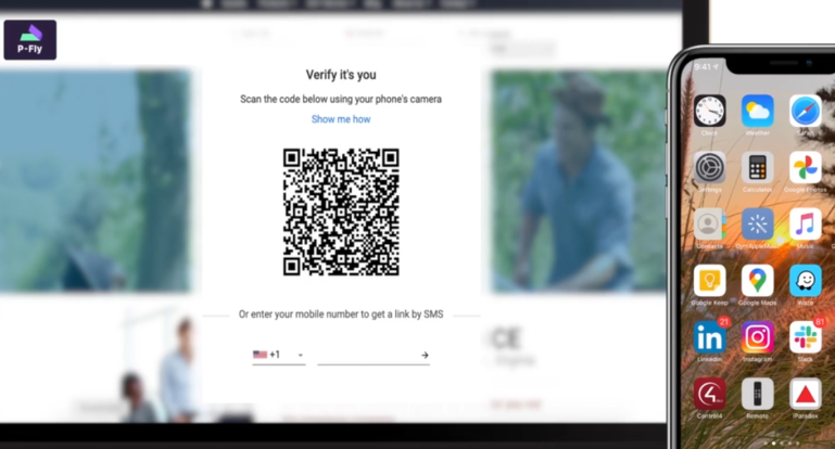Transmit Security: BindID uses QR code to authenticate any user with biometrics