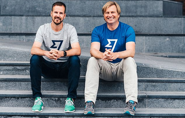 London float: Wise, which was set up by Estonian entrepreneurs Kristo Kaarmann (left) and Taavet Hinrikus (right) is set to announce a listing that could see it valued at up to £9bn
