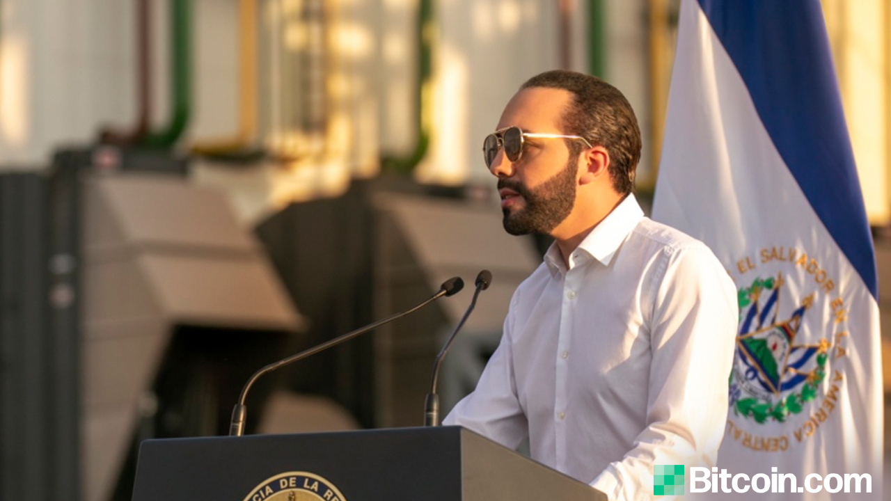 El Salvador's President Nayib Bukele Plans to Declare Bitcoin Legal Tender Next Week