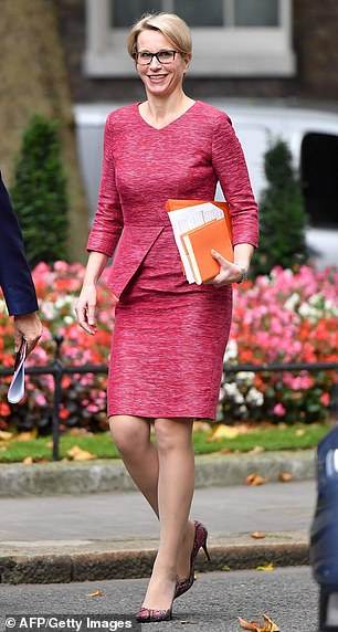 Shake-up: Glaxo chief Emma Walmsley promises a 'step change' for investors