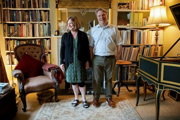 Sophie Yates and Bill Badley