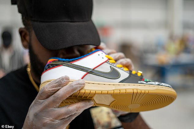 Authenticity: Sniff tests are just one of the checks to ensure that sneakers are not counterfeits